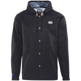 100% Deluge Jacket Men black